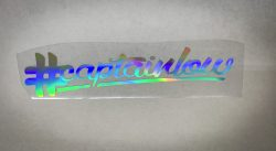 #captainlow Sticker 40cm / Oil Slick